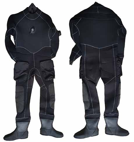 High Density Neoprene Drysuit-0801-02