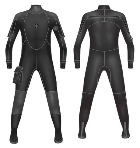 High Density Neoprene Drysuit-0801