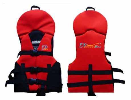 Neoprene Baby / Toddler Life Jacket-1863-RD