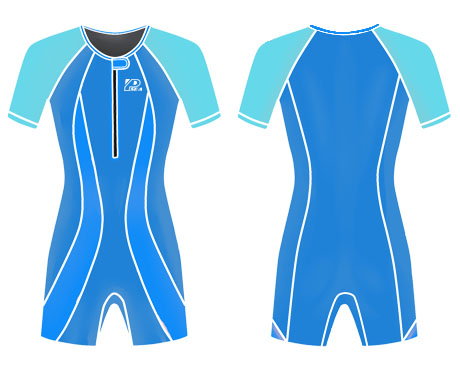 Neoprene Kids Swimwear-1823-BU/TUR