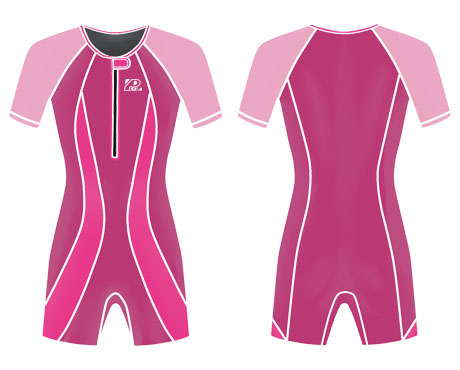 Neoprene Kids Swimwear-1823-RD/PK