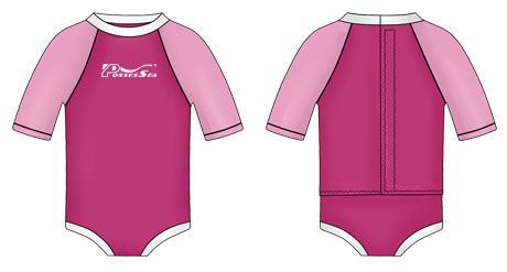 Neoprene Toddler Swimwear-1825-PK