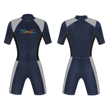 Neoprene Mens Surf Suit-1853-NA/GY