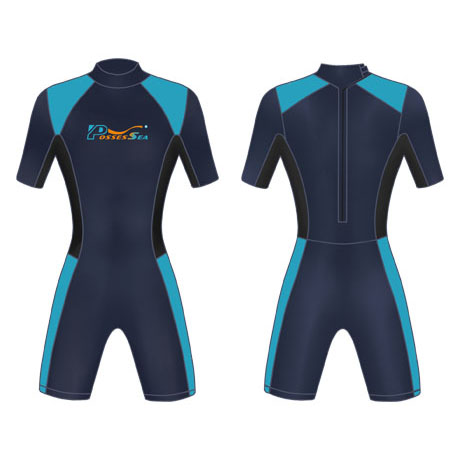 Neoprene Mens Surf Suit-1853-NA/LBU